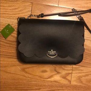 NWT black Kate Spade satchel